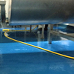 New hygienic food safe resin floor finish to CREAMERY