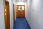 Hygienic Resin Wall Finishes - Ecuclad Police Station Example