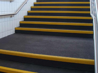 non slip stair nosings, edge strips and sheets