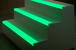 EdgeGrip Glow glow-in-the-dark stair nosing strip