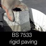 BS 7533 compliant rigid mortar systems specification