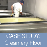 CASE STUDY: Food Safe Resin Floor for Creamery
