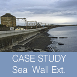 Case Study: Coastal flood defence sea wall extension
