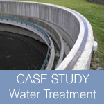Case study water treatment plant concrete repairs