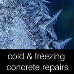 Repairing concrete in walk-in freezers, blast chillers, fridges and cold stores