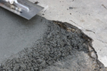 Impact and abrasion resistant concrete floor repair materials for markets