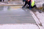 Thin shallow depth concrete repairs