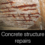 arcon concrete structure repair products