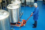 Dairy food safe resin floor finish