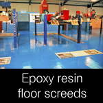 Epoxy Resin Screeds and Self-Levelling Coatings
