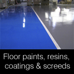 Floor Finishes, Paints, Resin Coating, & Screeds