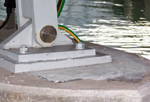 Epoxy bearing mortar for bridge bearings and plinths