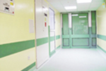 Hygienic Resin Wall Finishes - Resutile hospital exmple