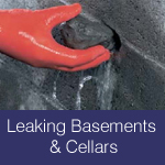 leaking cellars and basements causes and fixes