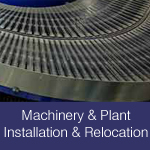 machinery & plant installation & relocation grouts & resin anchors