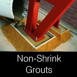 Non-shrink grouts general