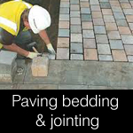 Bedding, Paving and Jointing Materials for Hard Landscaping