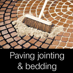 paving jointing & bedding