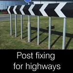 post fixing for highways