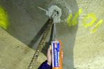 resin anchor grouts, bolt hole filling, fixing dowels