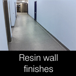 hygienic resin wall finishes and coatings