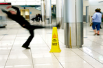 Anti-slip tile coating / paint for airports