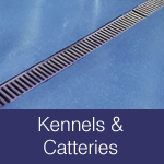 Floor and wall finishes for kennels & catteries