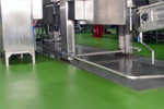 arcon resuthane TG69 forest green for laboratories and clean rooms