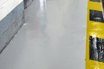 Resutile chemically resistant floor coating for labs