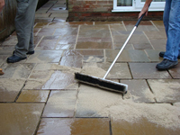 EasyJoint wet brush-in / wash-in paving flag setts joint filler