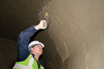 Tanking sluries & coatings for sewers and tunnels