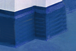 Chemically resistant warehouse floor finishes