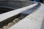concrete repairs to a water treatment tank