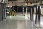 Epoxy resin factory floor paint applied by SureStep