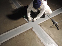 Dynamic joint sealing and crack bridging with MasterSeal 930 and 933