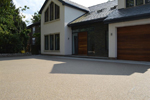 Resubind resin bound and bonded anti-slip finish to indoor and outdoor walkways, driveways, shopping centres