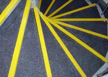 Slipgrip Grp Anti Slip Sheet Metal Spiral Staircase